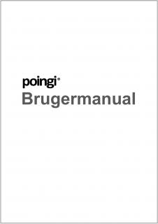 Brugermanual